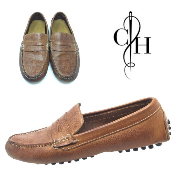 80b4d981cc0b0 Cole Haan Air Grant Sz 8.5 Tan Driving Loafers